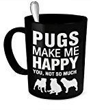 Funny Meme and quotes Pug dogs and puppies for dog lovers, check out this hilarious funny Pugs mugs and shirts for golden retriever owners..  Pugs a popular dog breed http://HarrietsDogGifts.com for funny pug gifts for dog owners.