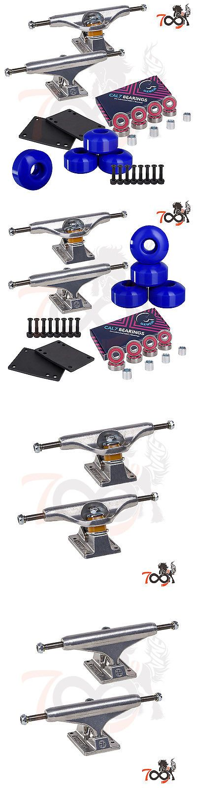Wheels 165946: Independent 144 Skateboard Trucks Combo Abec 7 Bearing 52Mm Blue Wheels -> BUY IT NOW ONLY: $49.99 on eBay!