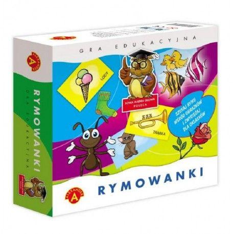 Rymowanki - Gra Edukacyjna dla Dzieci od lat 5.  Zabawa polega na jak najszybszym odszukaniu rymów wśród obrazków. Wygrywa ten, kto znajdzie najwięcej rymujących się obrazków.  Sprawdźcie sami:)  http://www.niczchin.pl/zabawki-edukacyjne-dla-dzieci/2867-rymowanki-gra-edukacyjna.html  #rymowanki #graedukacyjna #gradladzieci #zabawkiedukacyjne #zabawki #niczchin #krakow