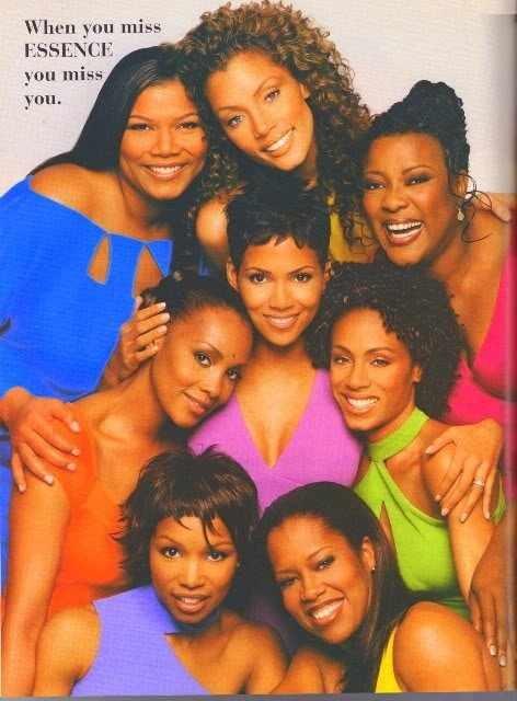 Black Women at their most beautiful best. Queen Latifah, Vanessa Williams, Loretta Divine, Halle Berry, Vivica A. Foxx, Jada Pinkett-Smith, Elise Neal and Regina King.