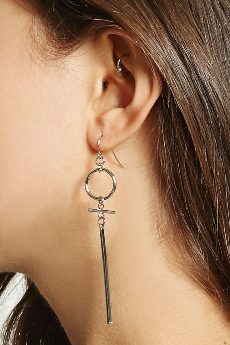 Jewelry amp watches gt fashion jewelry gt body jewelry gt body piercing - Drop Matchstick Hoop Earrings