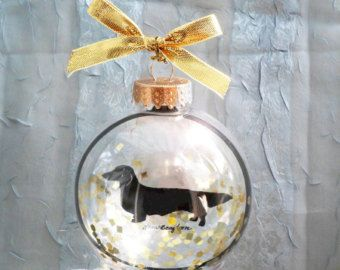 Norwegian Elkhound/Pet Ornament by silhouettesbylena on Etsy