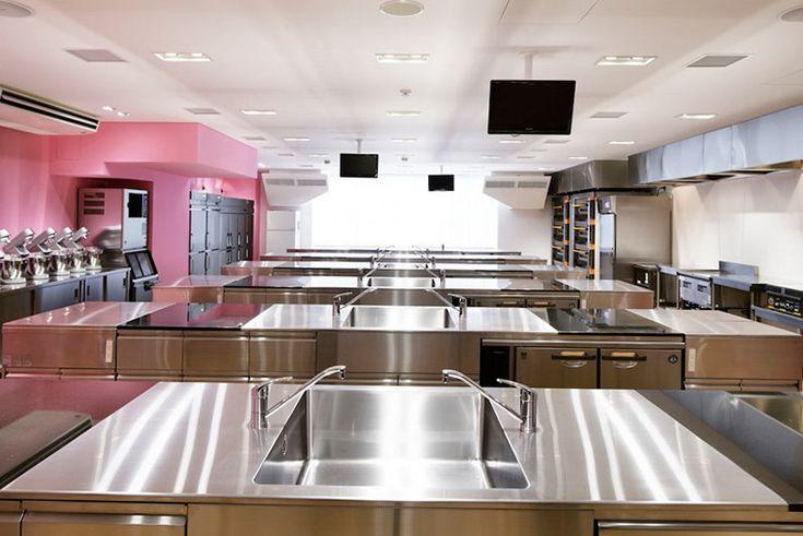 Baking Kitchen At Technical Chef School In Utsunomiya Japan Emmanuelle Moureaux Architecture Design
