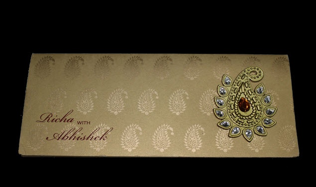 Even in these times, where e-invites are ruling the roost, Hindu wedding invitations are still very much in demand due to their mirror work & parchment. Nowadays, Indian wedding cards are being reinvented and have attained much popularity among people as they are quaint, unique & attractive in nature.