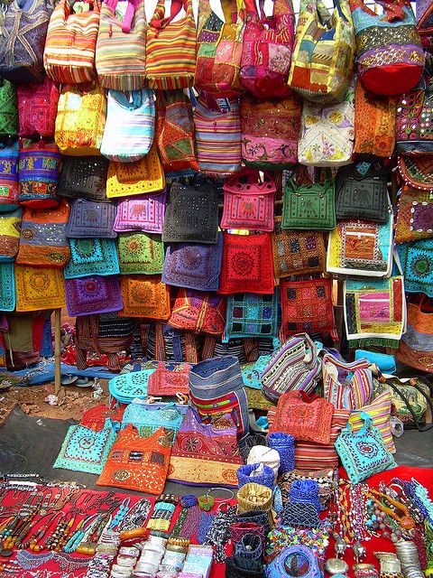 India_Goa_035 Anjuna Flea Market - Wednesdays. Its all 'same, same but different'