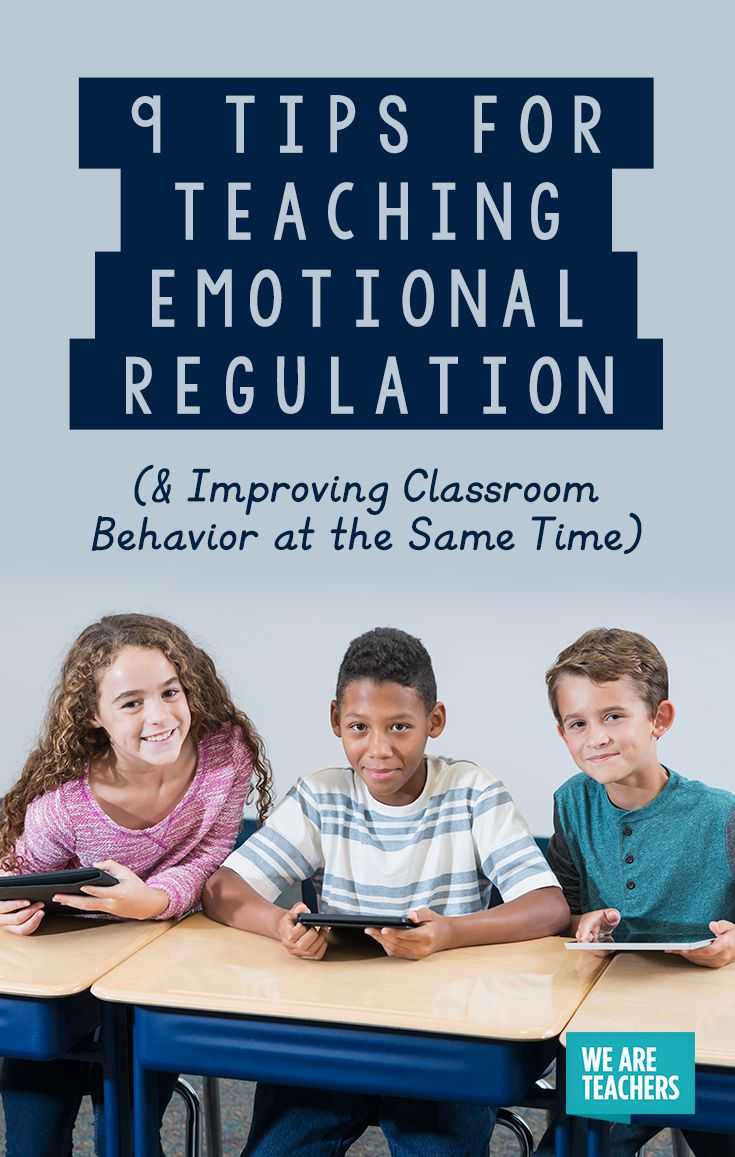 Emotional Regulation: 9 Tips for Teaching it in the Classroom