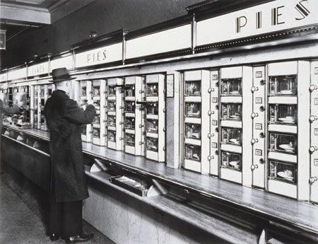 Berenice Abbott , Automat, 1936.