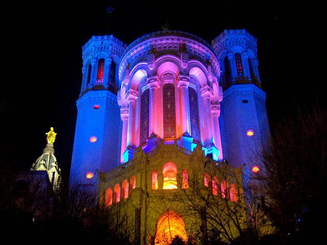 Fourvière - Lyon Fête des Lumières décembre