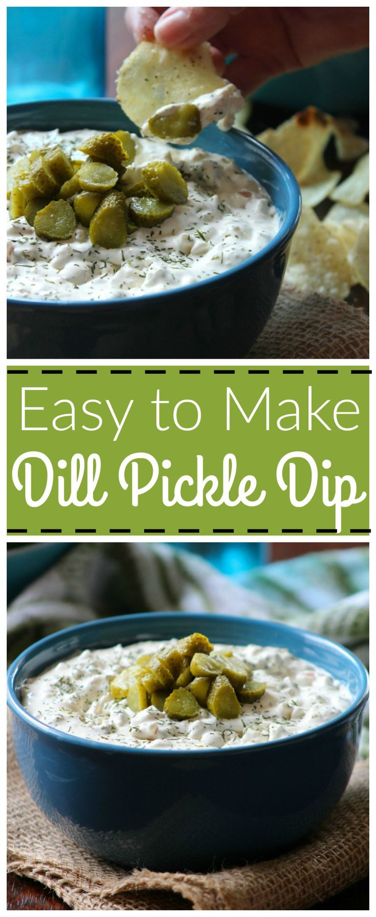 Mention Dill Pickle Dip to me and I will proclaim to you, it to be, What dreams are made of on a warm spring day here in Mississippi. It's that deliciously simple to make dip we love to serve…