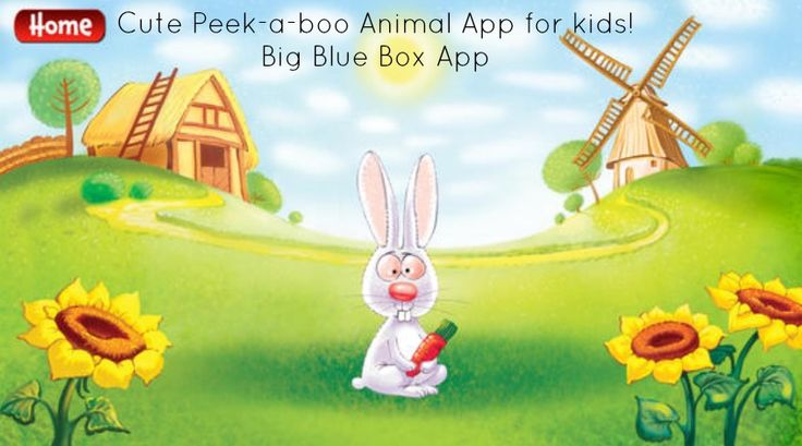 Big Blue Box App - Peek-a-boo Farm Free to download until Friday - Dr Belinda The Vet