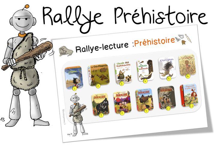 Rallye Préhistoire CE1 -CE2 - Bout de gomme