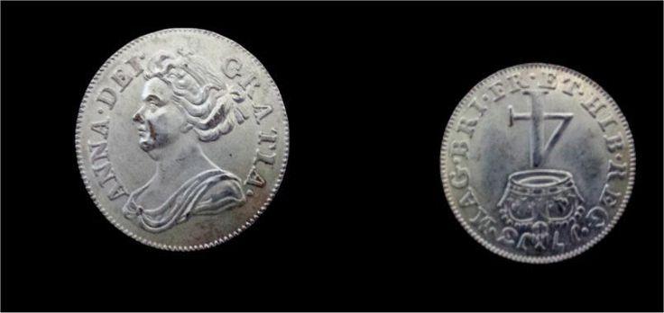 GRAN BRETAÑA QUEEN ANNE 1713 4 PENIQUES, REVERSE INVERTED,VERY RARE  FAKE | eBay