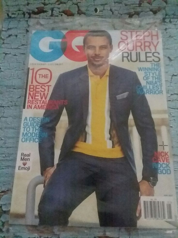 $14.97 #GQ Magazine #StephCurry Golden State Warriors NBA Champions #Basketball May 2017 #GoldenStateWarriors
