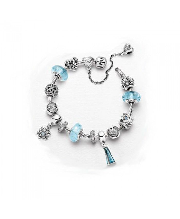 fc0f27cea964 Cheap Disney PANDORA Princess Elsa Bracelet Gift Set UK Outlet ...