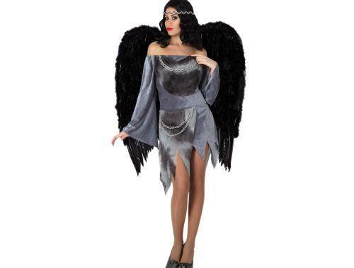 Disfraz Ángel Negro Sexy