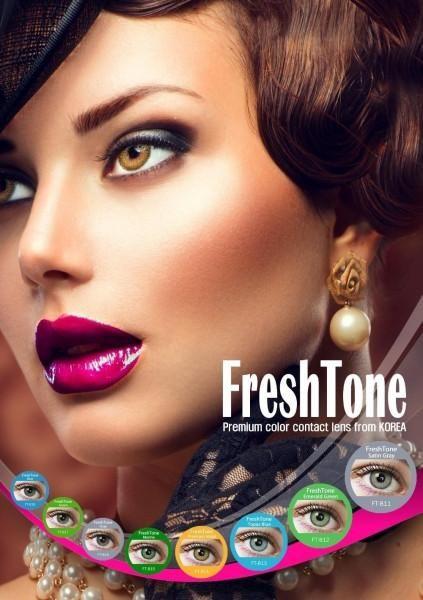 FreshTone Color Blends Colored Contact lens- few colors left, On Sale! #contactlens #coloredcontactlens