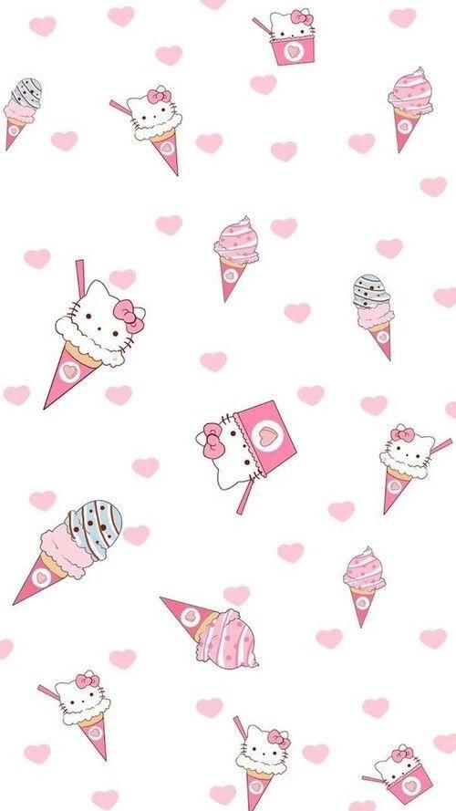 Hello Kitty Tapete Auf Rechnung : Hello Kitty Blue iPhone Wallpaper