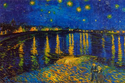 Starry-Night-over-Rhone by Vincent Van GoghVincent Of Onofrio, Rhone, Vincent Vans Gogh, Art, Starrynight, Vincentvangogh, Vincent Van Gogh, Painting, Starry Nights