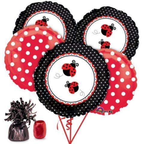 Ladybug Party Balloon Kit