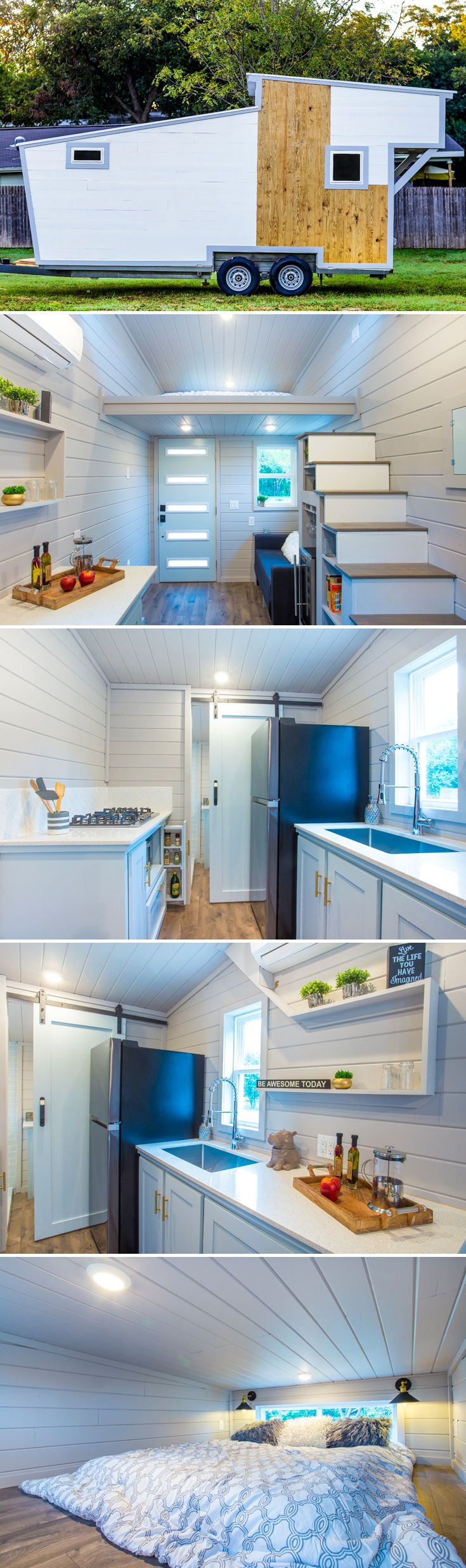 266 best Tiny Homes images on Pinterest   Kitchen small, Small ...