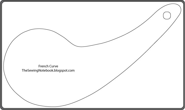 Dynamic image with regard to printable french curve