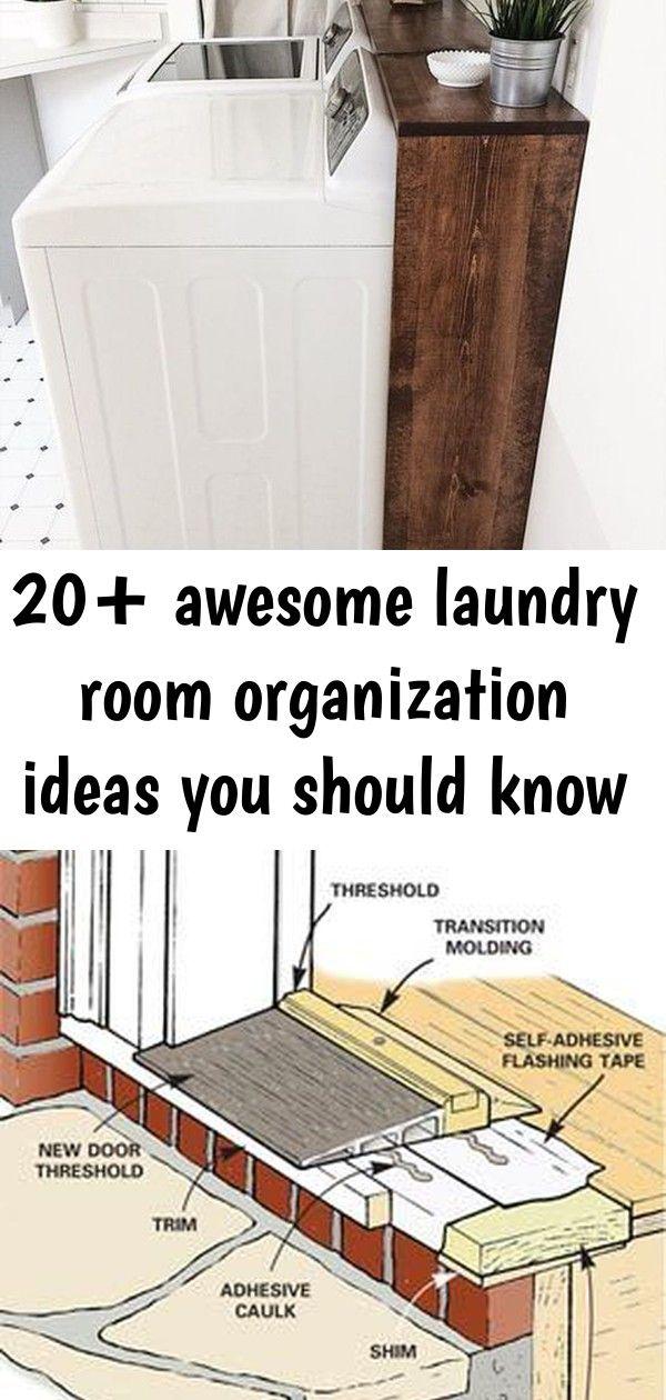 20 Awesome Laundry Room Organization Ideas You Should Know Laundry Room Organization Installing Exterior Door Organization
