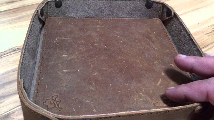 Saddleback Leather Classic Valet Tray