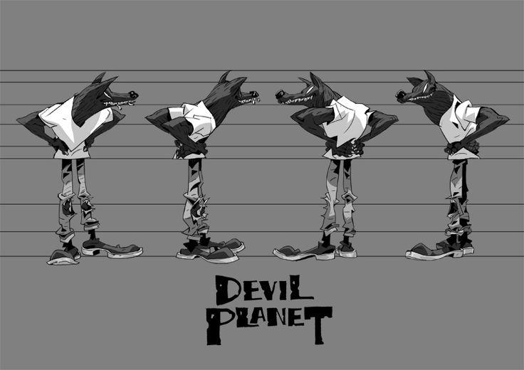 Devil Planet DD. Kang MinJung. Kang Goon. Character Design. Korean artist. Devil Planet.  facebook.com/naphe4 tumblr.com/blog/kangminjungart behance.net/kangminjung
