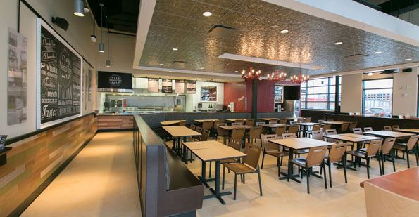The Concept Has A Familiar Fast Casual Format