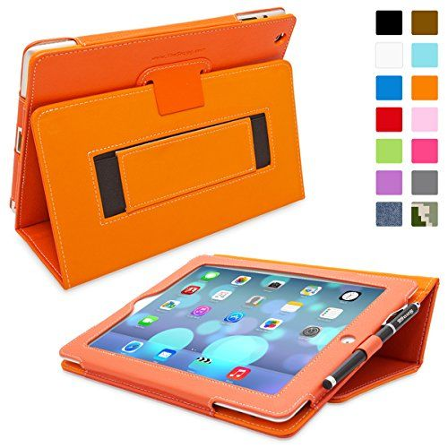 Snugg iPad 4 & iPad 3 Leather Case in Orange - Flip Stand Cover with Elastic Hand Strap and Premium Nubuck Fibre Interior - Automatically Wakes and Puts the Apple iPad 4 & 3 to Sleep Snugg http://www.amazon.ca/dp/B008X1UYZ4/ref=cm_sw_r_pi_dp_Fmptub076PP1Z