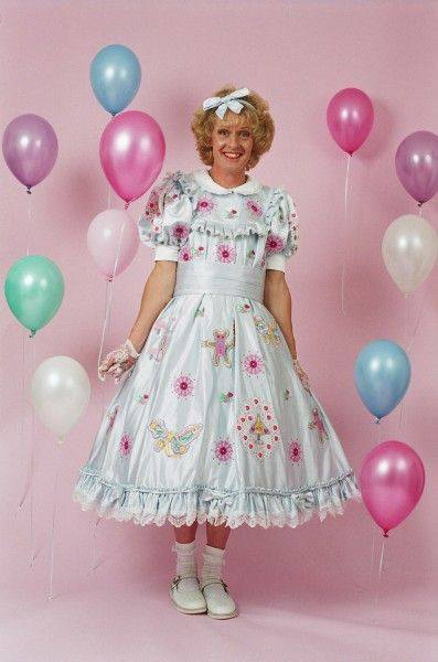 """Grayson Perry, CBE ~ """"Claire's Coming-Out Dress"""" (2000) © Collection: Nottingham Castle Museum & Art Gallery, photo: Rob Weiss"""