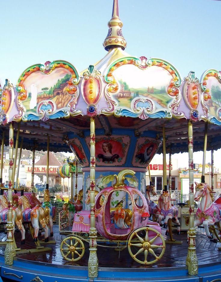 Make Your Way Around Britain: Out of season fairgrounds (non vintage?)