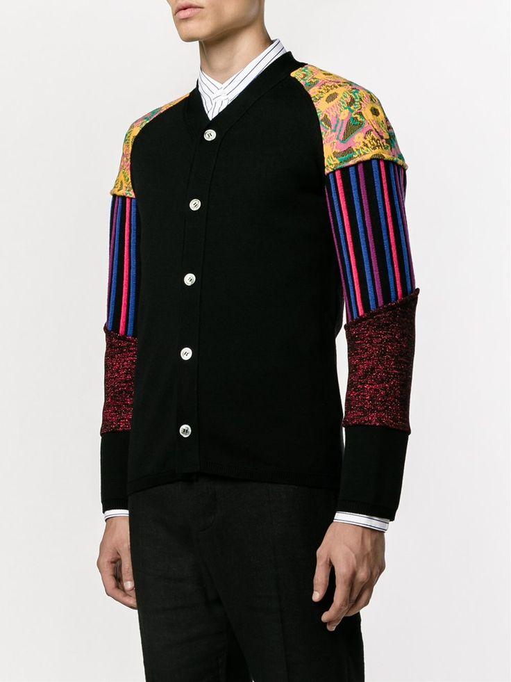 COMME DES GARÇONS HOMME PLUS patchwork sleeve cardigan 1.050,00 €