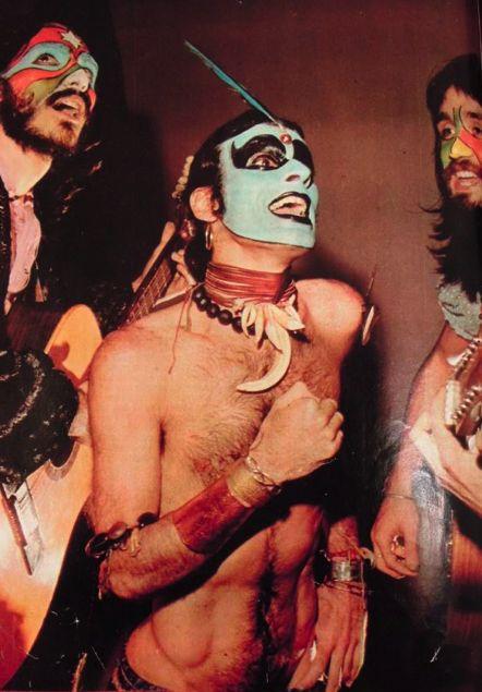 Para o fim de domingo  SECOS E MOLHADOS - brazilian psychedelic band, 70's