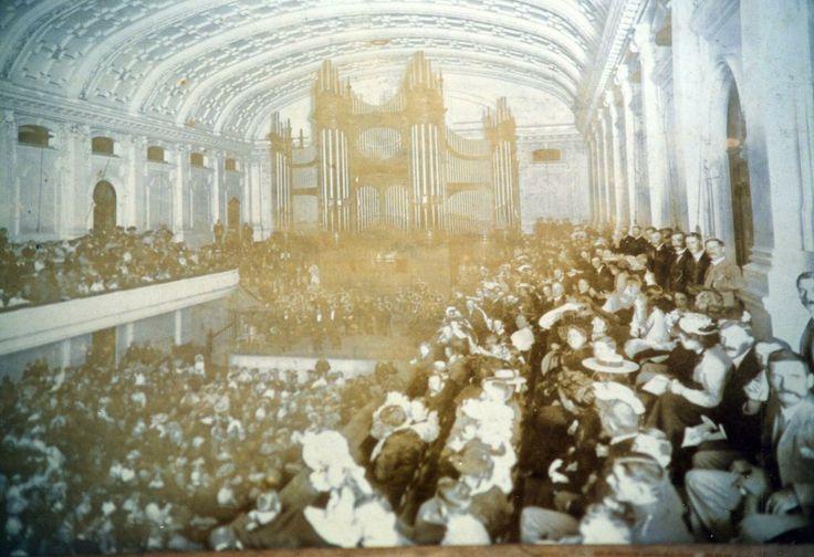 The City Hall Pietermaritzburg 1902 - Inside