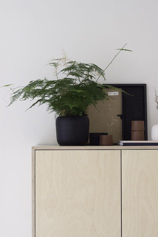 KYLÄSSÄ / Plywood wardrobe