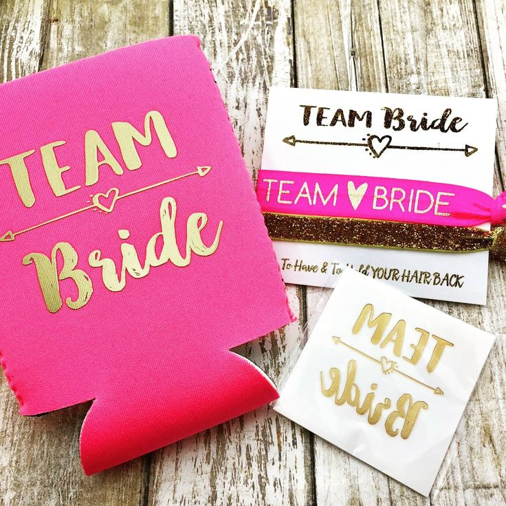 Our Bachelorette Party sets are designed by us especially for your next Bachelorette Party. Add these cute can coolers, hair ties, and tattoos to your goody/wel