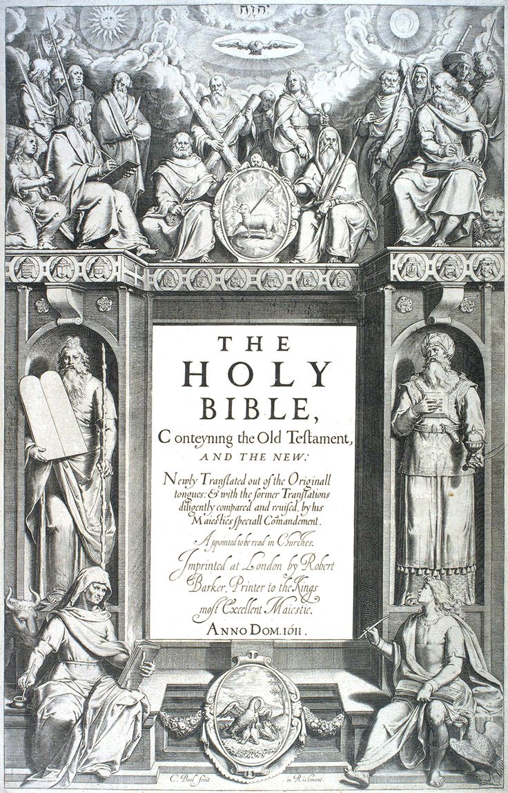 Title page of the King James Bible