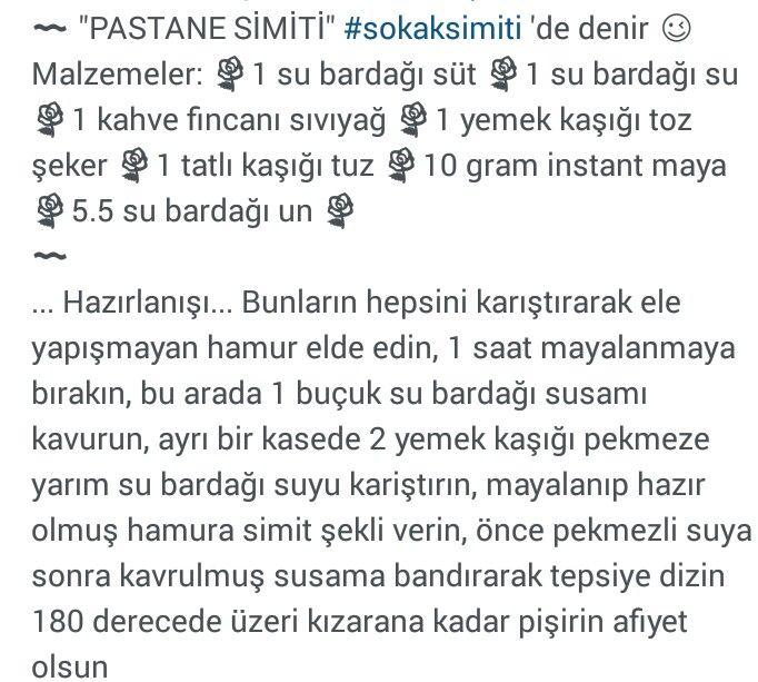 PASTANE SİMİTİ