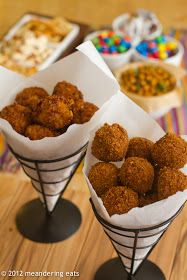 meandering eats: Fried Balls of Deliciousness: Bitterballen and Arancini