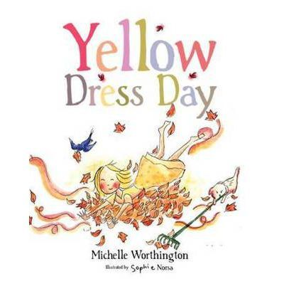 Yellow dress day by michelle worthington