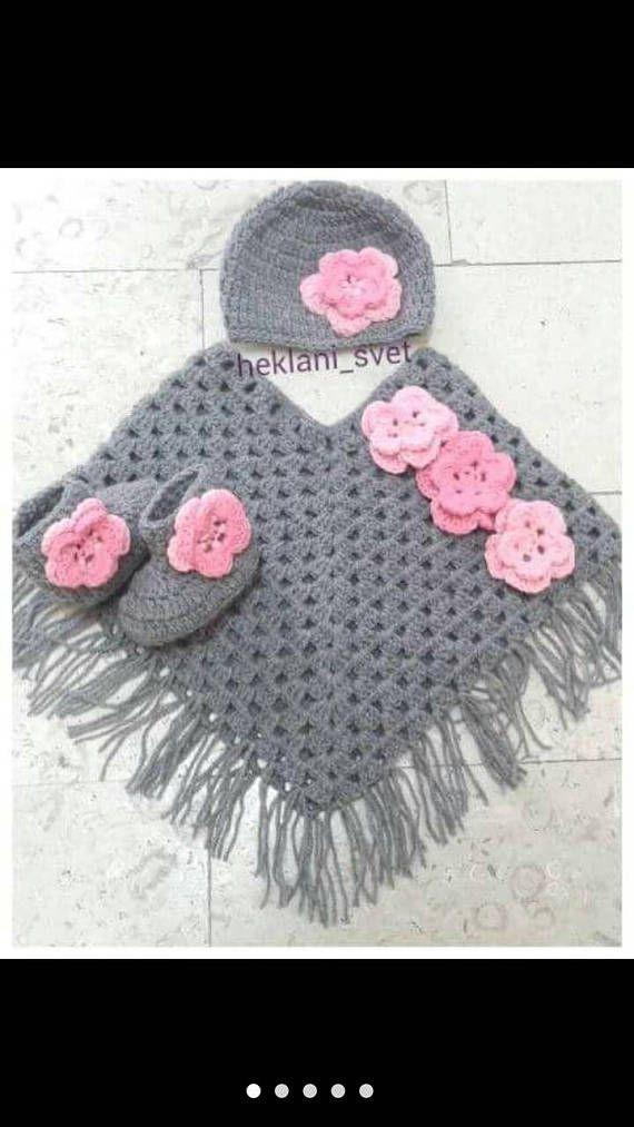 Baby set-Baby shower gift-Crochet baby set-Baby sets-Girls
