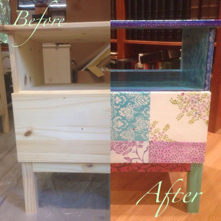 Ikea Diktad Wickelkommode Maße ~ ikea tarva nightstand handpainted more ikea tarva painted furniture