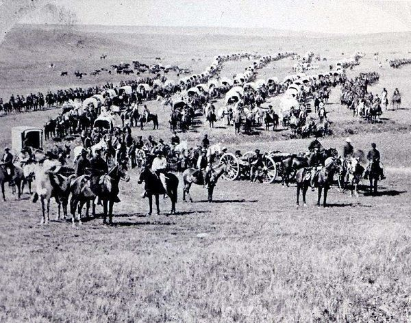 Custer's Last Stand - Custer's men before the Battle Of Little Big Horn