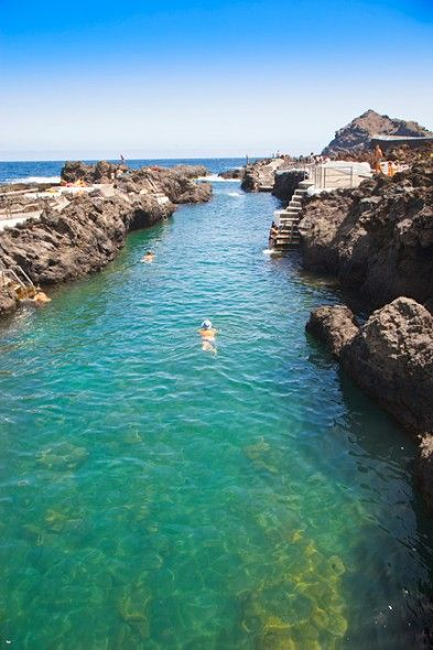 Pool: Piscina El Caleton, Garachcio, Teneriffa