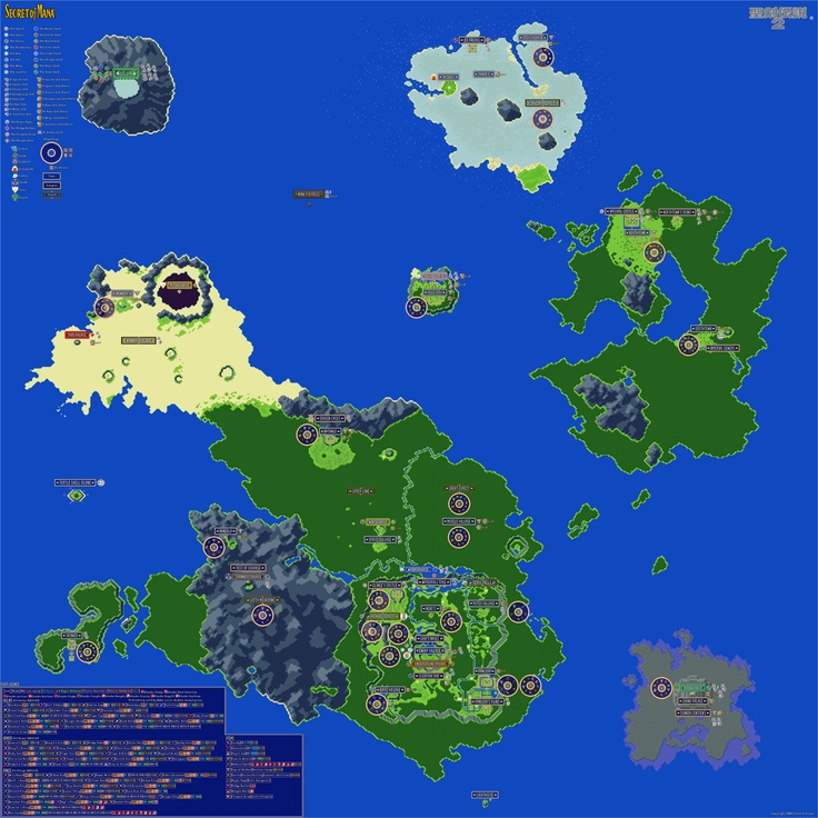 Mejores 74 imgenes de game maps en pinterest mapas videojuegos y secret of mana world map gumiabroncs Image collections