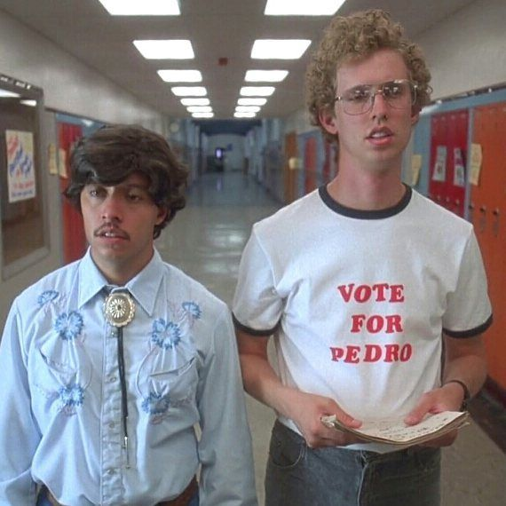 Don't like your choices?  Vote for Pedro!