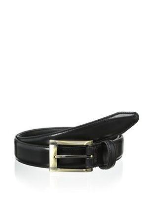54% OFF Vintage American Belts Men's Jones Polished Saddle Leather Belt (Black)