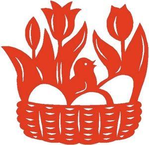 Easter basket http://www.pysanky.info/Miscellany/Vytynanky_files/STICKER1.jpg