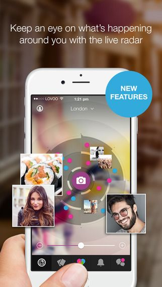 #LOVOO is a simple fun way to discover the stories next door! Get connected with new people around you. Express yourself, share your amazing moments and get inspired! Here's how it works: WHO IS AROUND YOU? - Check the live radar to see what's happening around you SHOW US YOUR FAVOURITE MOMENTS